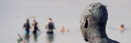 ים המלח, בוץ, ראש