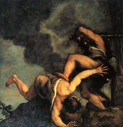 קין והבל, טיציאן