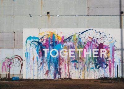 ביחד, חומת הפרדה, גדר, ישראל, פלסטין