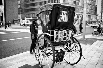 ריקשה, טוקיו, מונית, אקולוגיה
