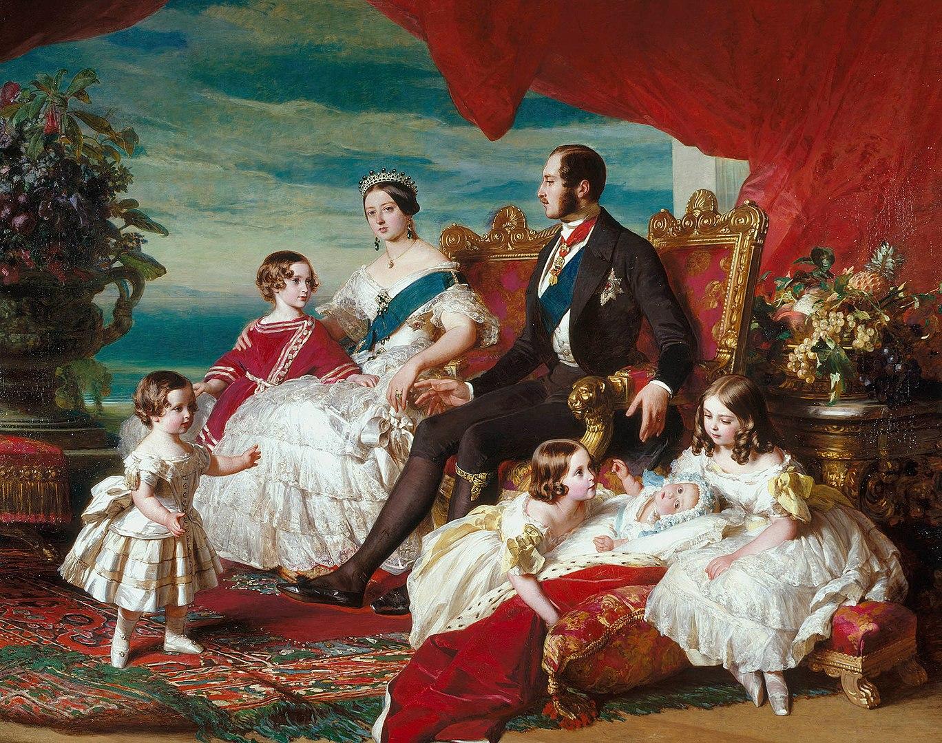 המלכה ויקטוריה, הנסיך אלברט