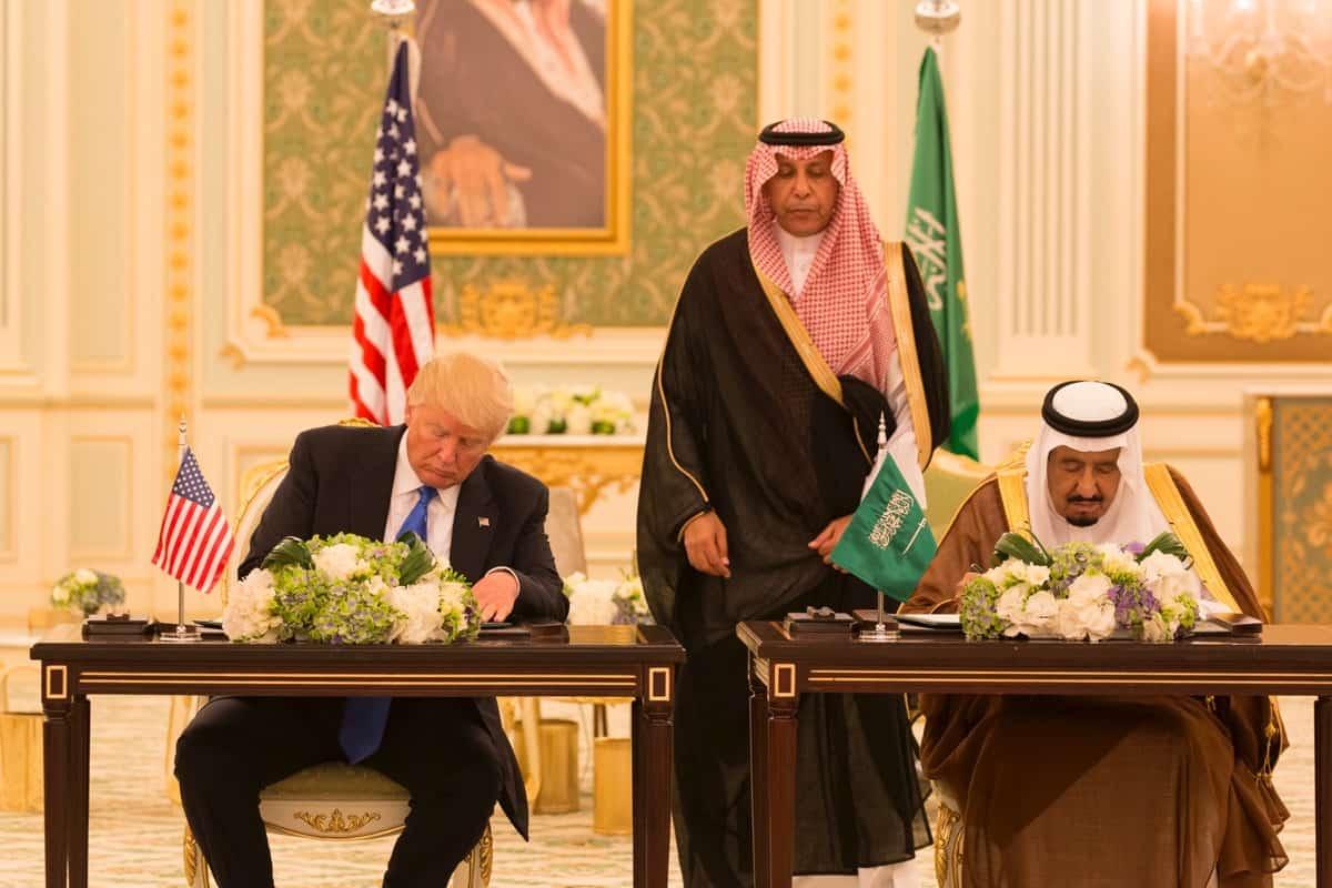 טראמפ, ערב הסעודית, אסטרטגיה