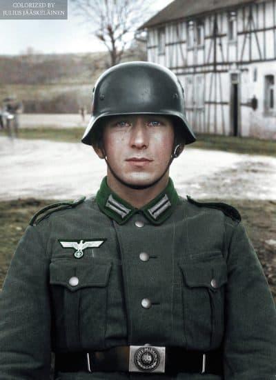 ורמאכט, חייל גרמני, מלחמת העולם השנייה
