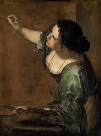 ארטמיזיה ג'נטילסקי, אלגוריה, ציור