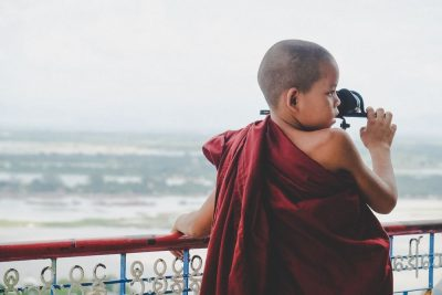ילד, נזיר, בודהיסט, מיאנמר