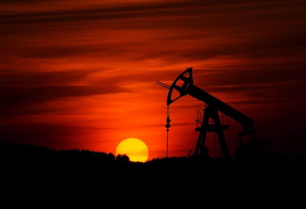 נפט, קידוח, משאבה, שקיעה