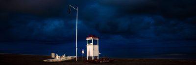 מציל, חוף ים, רימיני, איטליה, תחנת הצלה