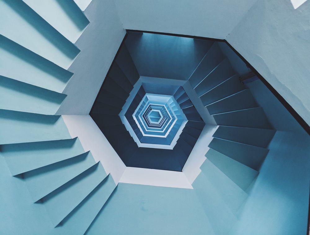 מדרגות, לולייניות, ספירלה