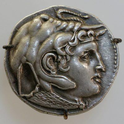 אלכסנדר מוקדון, תלמי הראשון, מטבע