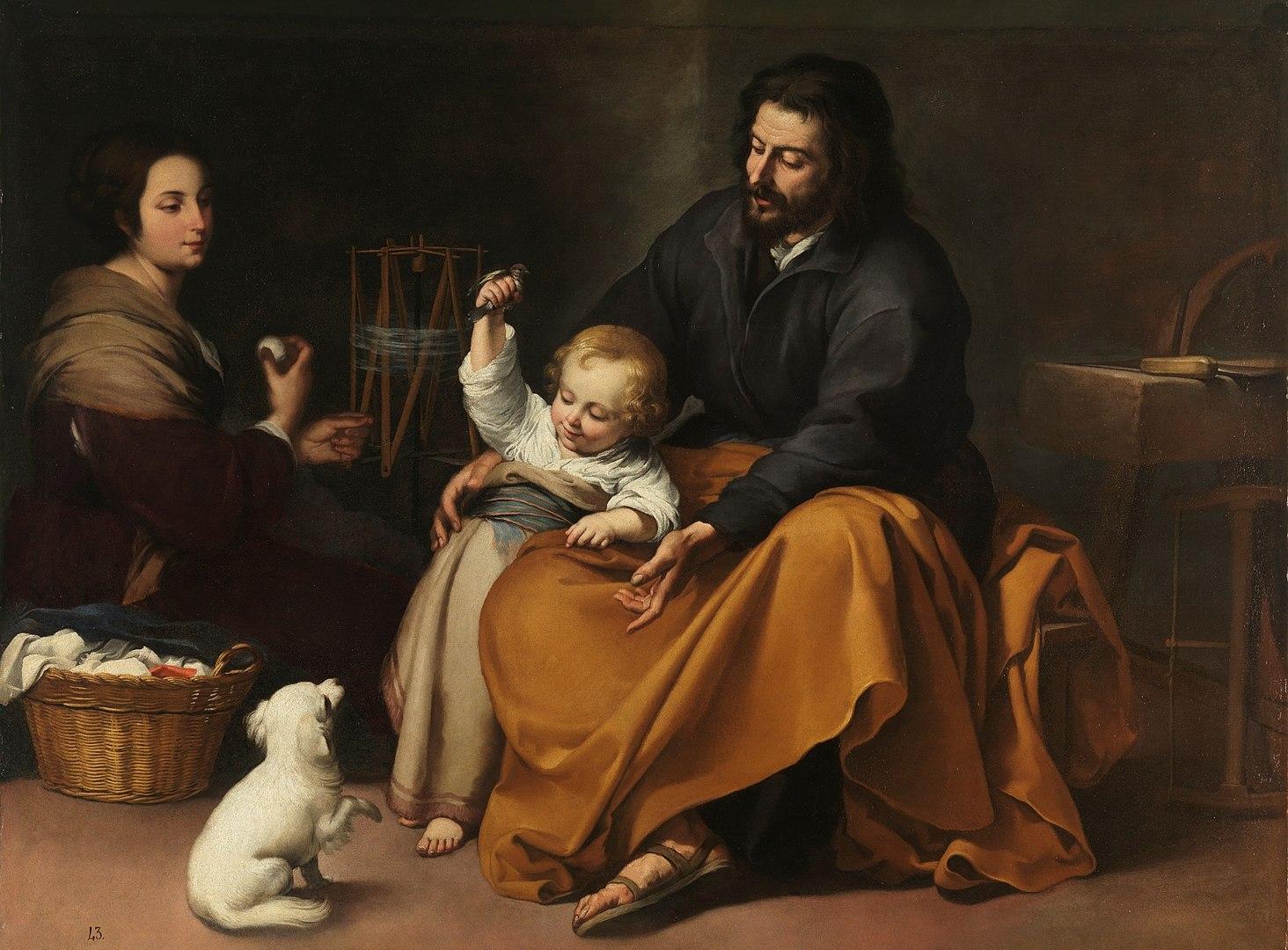 המשפחה הקדושה, ברתולומה אסטבן מורייו