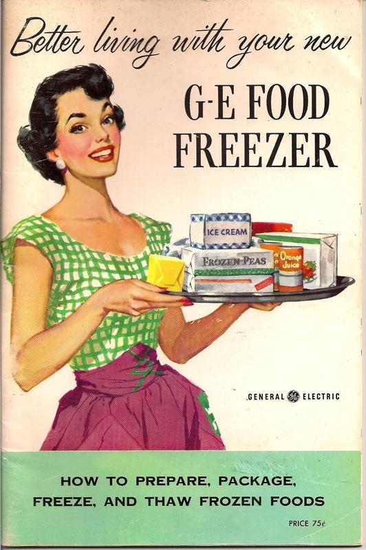 עקרת בית, שנות החמישים, מקרר