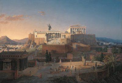 אתונה, אקרופוליס, לאו פון קלנצה