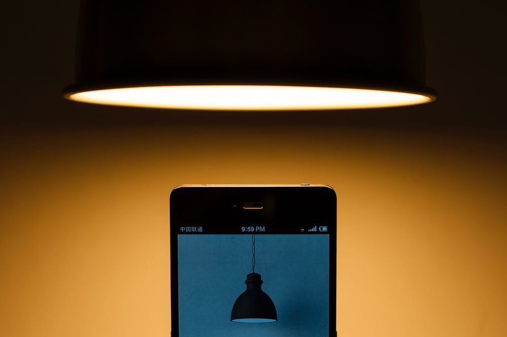 סלולרי, מנורה, אור