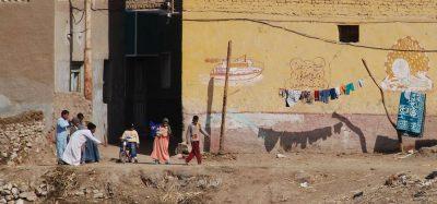 נילוס, עיירה, מצרים, עוני
