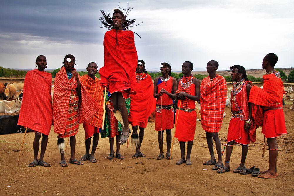 מאסאי, מסאי, קניה, ריקוד