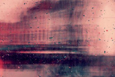 חלון, זכוכית, טיפות גשם, פריס