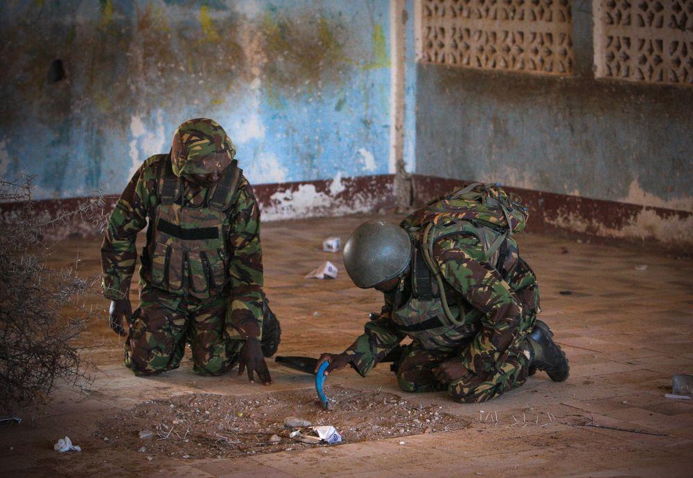 מוקשים, סומליה
