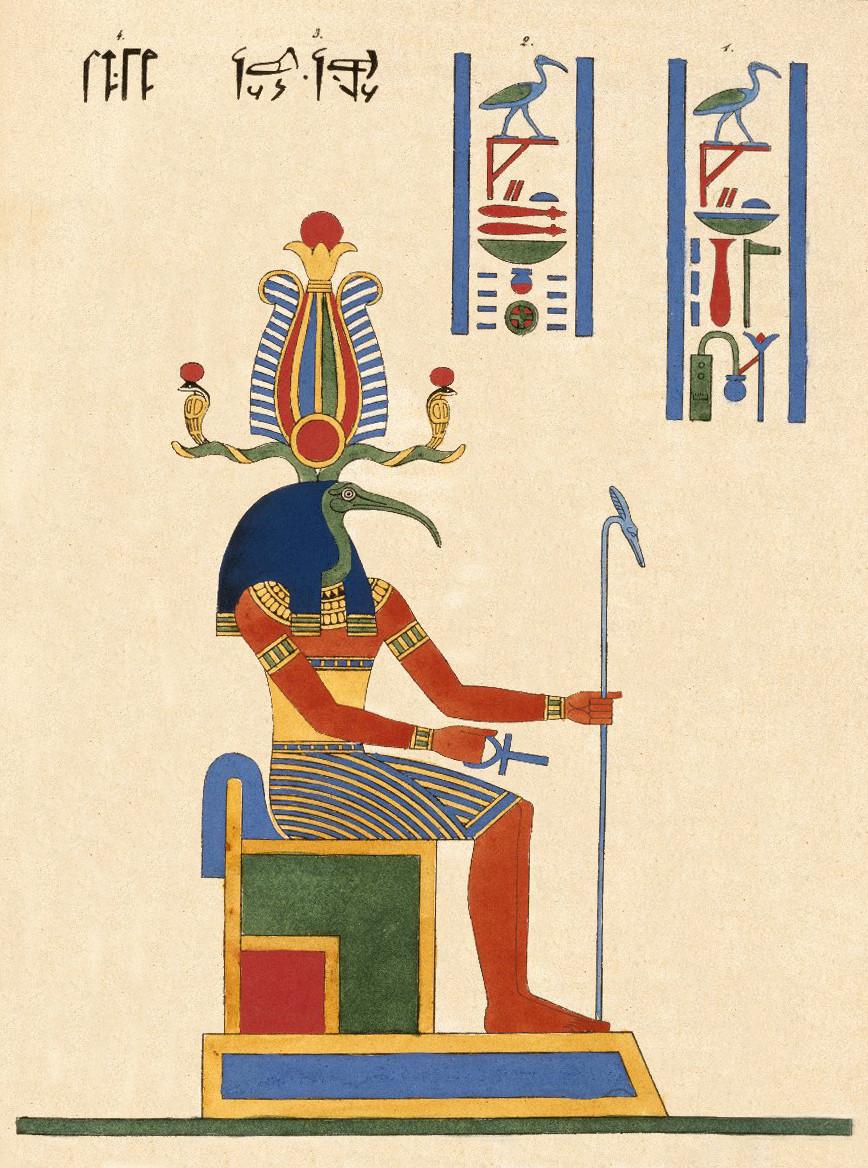 תחות, ת'ות, זיכרון, אל, מצרים העתיקה