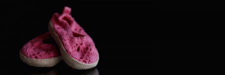 נעלי תינוק, נעליים סרוגות