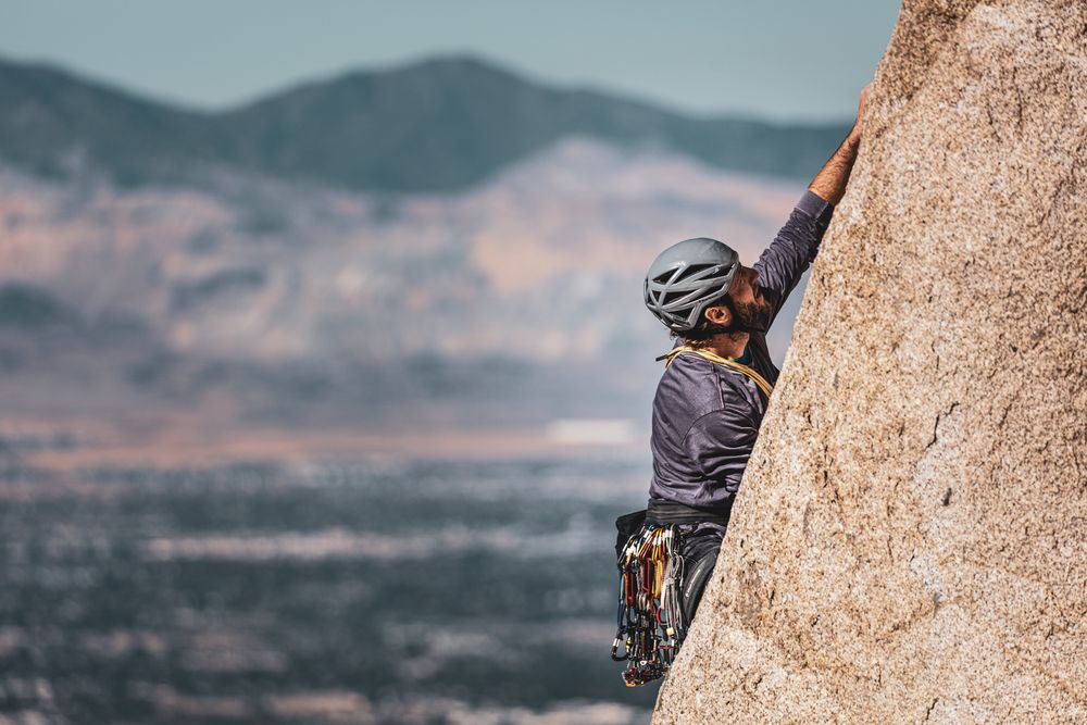 מטפס, סלע