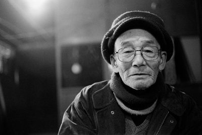 יפן, זקן, איש זקן