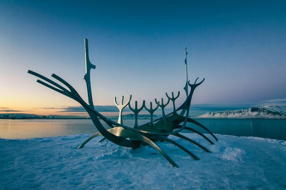 נוסעת השמש, רייקיאוויק, איסלנד