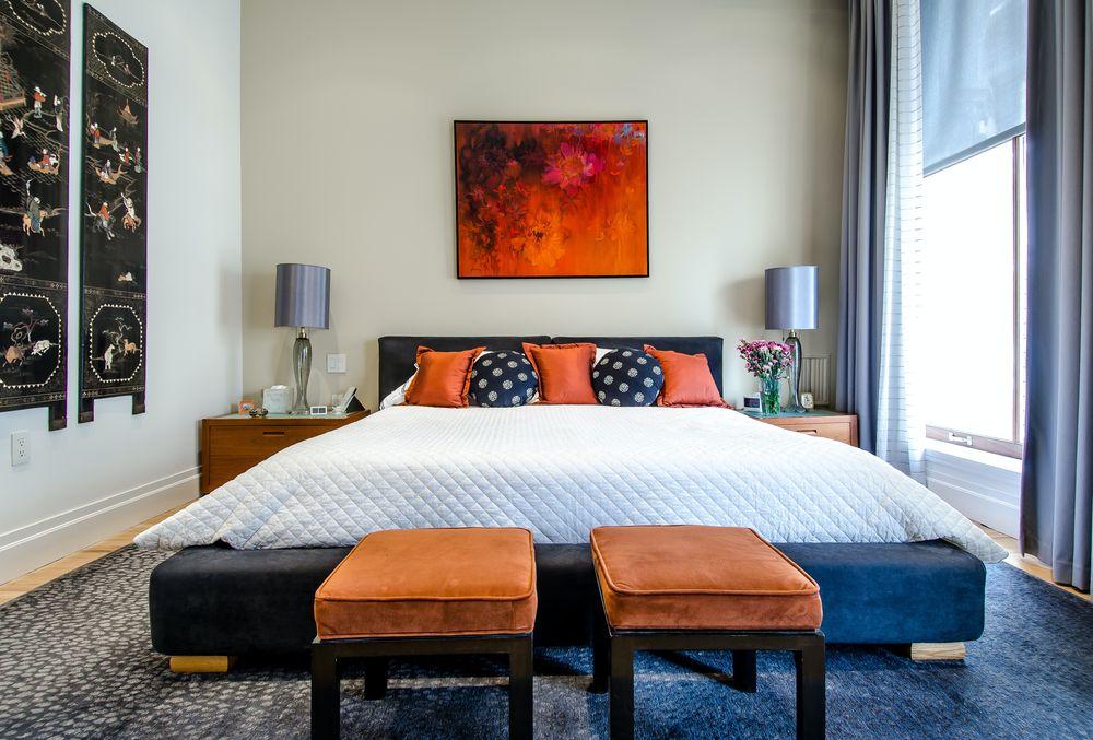 חדר שינה, מיטה זוגית