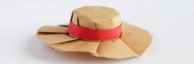 כובע, כובע נשי, אוריגמי