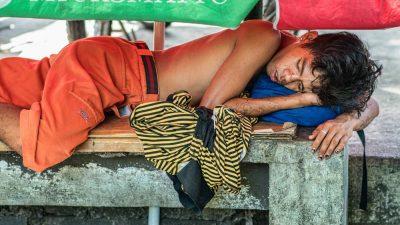 שוק, בעלי חיים, עוני, פיליפינים