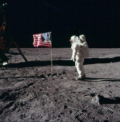 הנחיתה על הירח, אפולו 11, באז אולדרין