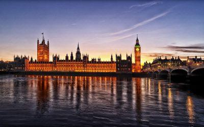 פרלמנט, ווסטמינסטר, הפרלמנט הבריטי