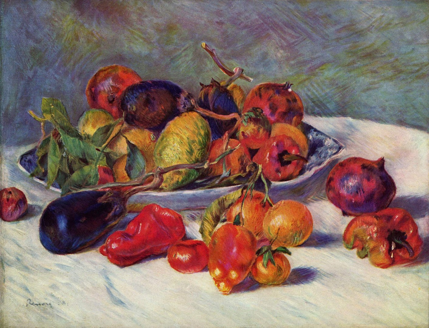 טבע דומם עם פירות, רנואר