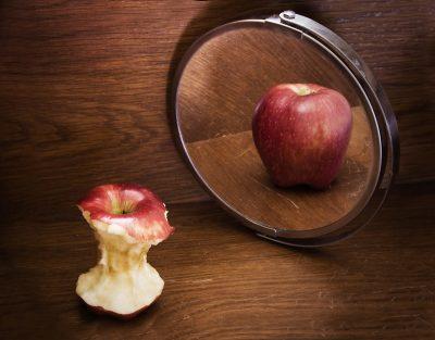 תפוח, מראה, תפישה, תפוח נגוס, אנורקסיה