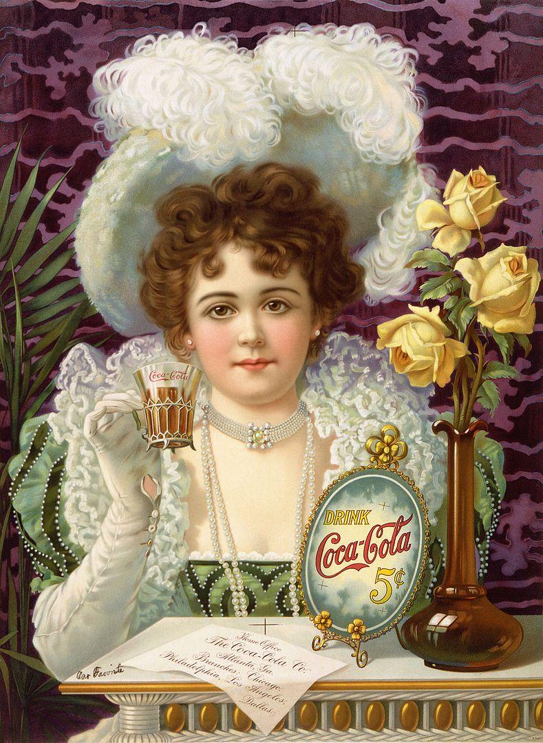 קוקה קולה, מודעה