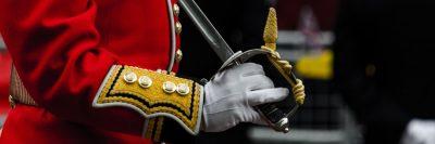 חייל בריטי, מצעד