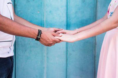 זוג, מחזיק ידיים