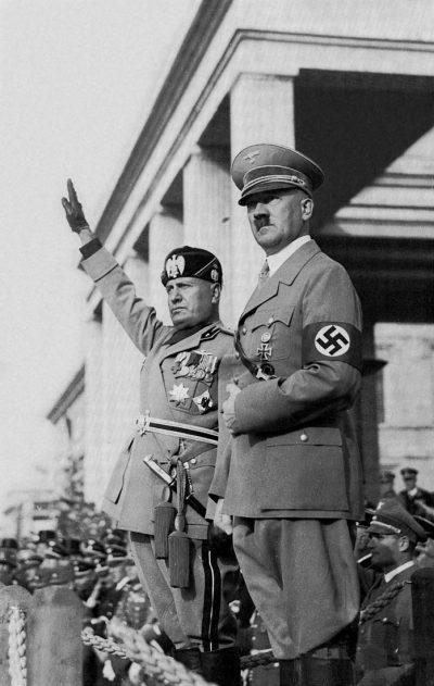 היטלר, מוסוליני