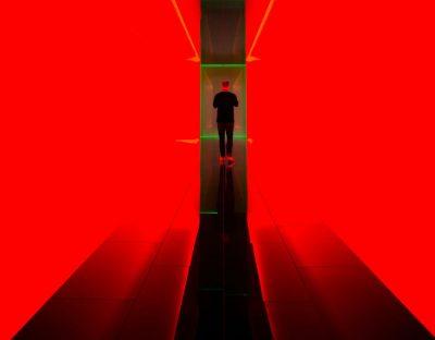 אור, קירות, אדום