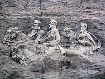 ג'פרסון דייוויס, רוברט אי. לי, סטונוול ג'קסון, הקונפדרציה, אנדרטה, אטלנטה