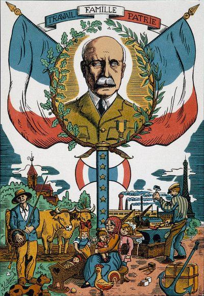 וישי, צרפת, מהפכה לאומית, משפחה עבודה ומולדת