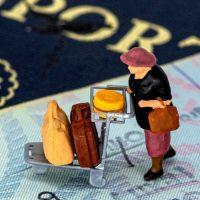דרכון, מעבר גבולות, הגירה