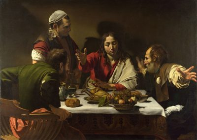 קאראווג'ו, ארוחת ערב באמאוס
