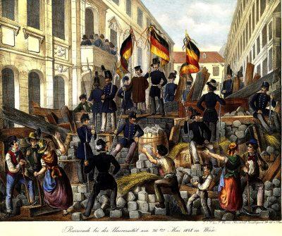 וינה, מהפכה, 1848, בריקדות, אוניברסיטה