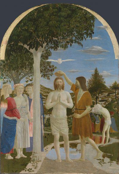 טבילת ישוע, פייר דלה פרנצ'סקה