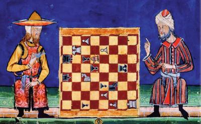 אל-אנדלוס, יהודי, מוסלמי, שחמט