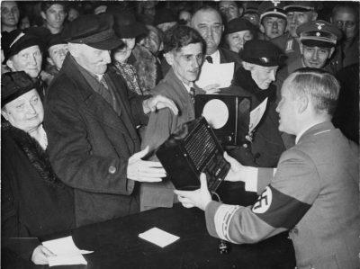 רדיו, גבלס, תעמולה, גרמניה הנאצית