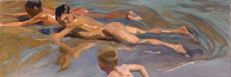 ילדים על החוף, חואקין סורויה