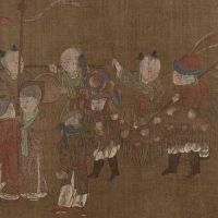 מאה הבנים, סין, אמנות סינית