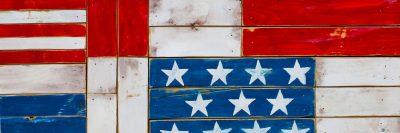 """דגל אמריקני, דגל ארה""""ב, קרשים"""