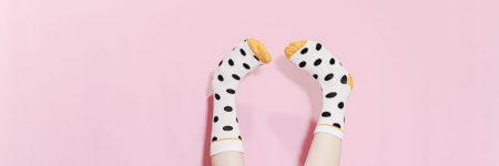 ילדה, גרביים, רגליים